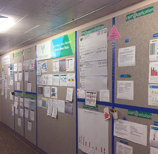 Array Advisors Lean-Workshop Bulletin Boards