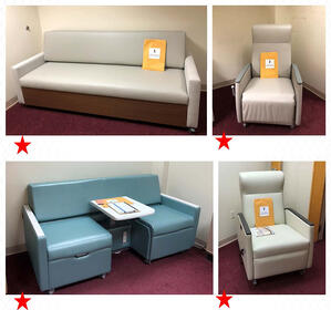 Hospital Furniture with Assessment Rankings