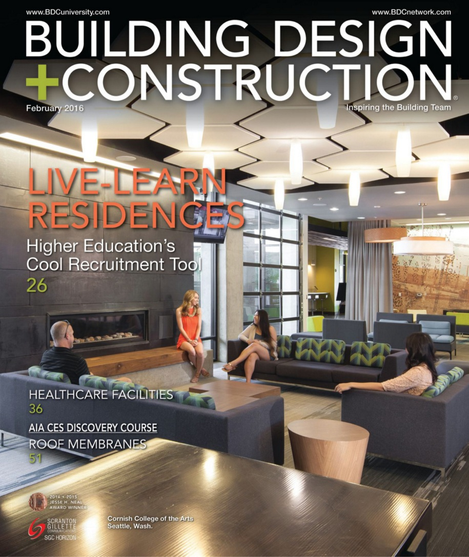 Building Design and Construction Magazine Cover